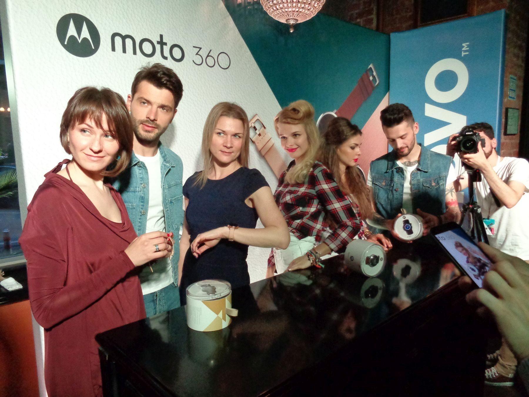 Презентация умных часов Moto 360 оф