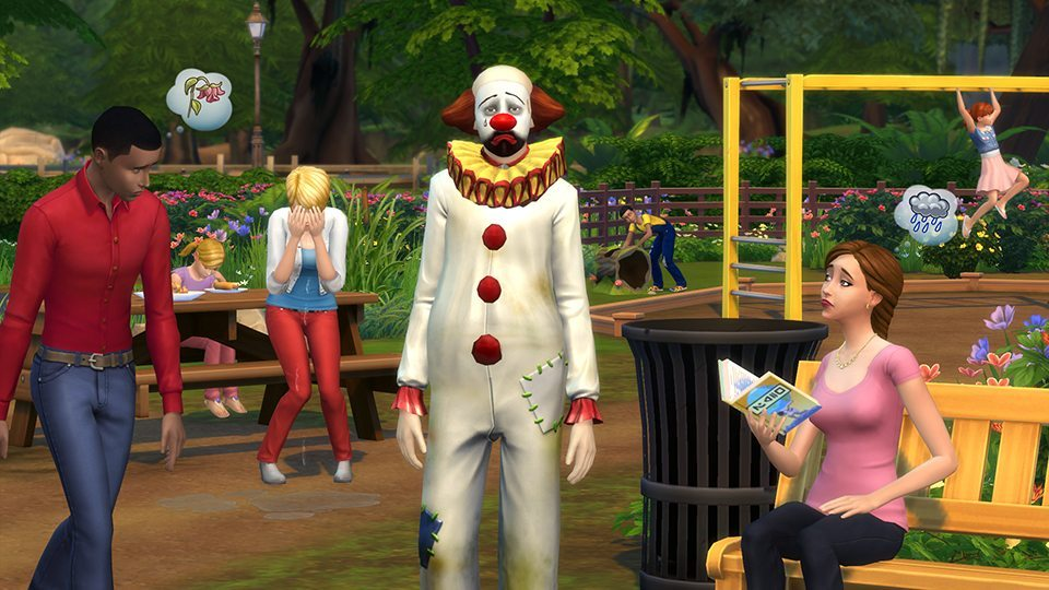 The Sims 4 cloun