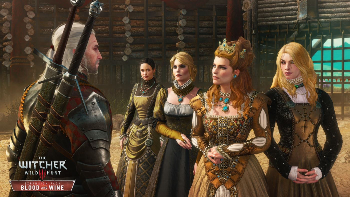 The Witcher 3 Blood and Wine Henrietta