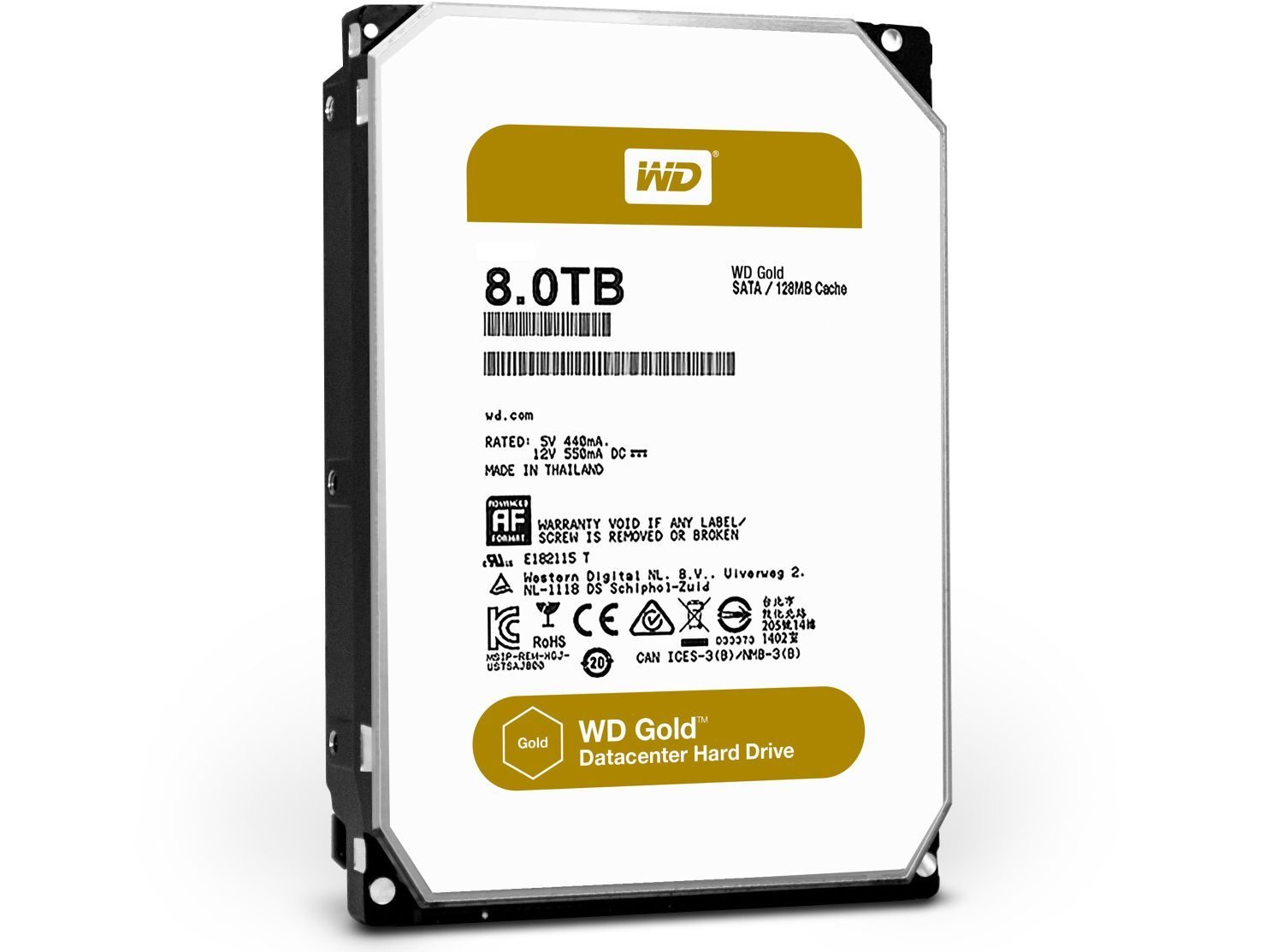 WD Gold 8 Тбайт