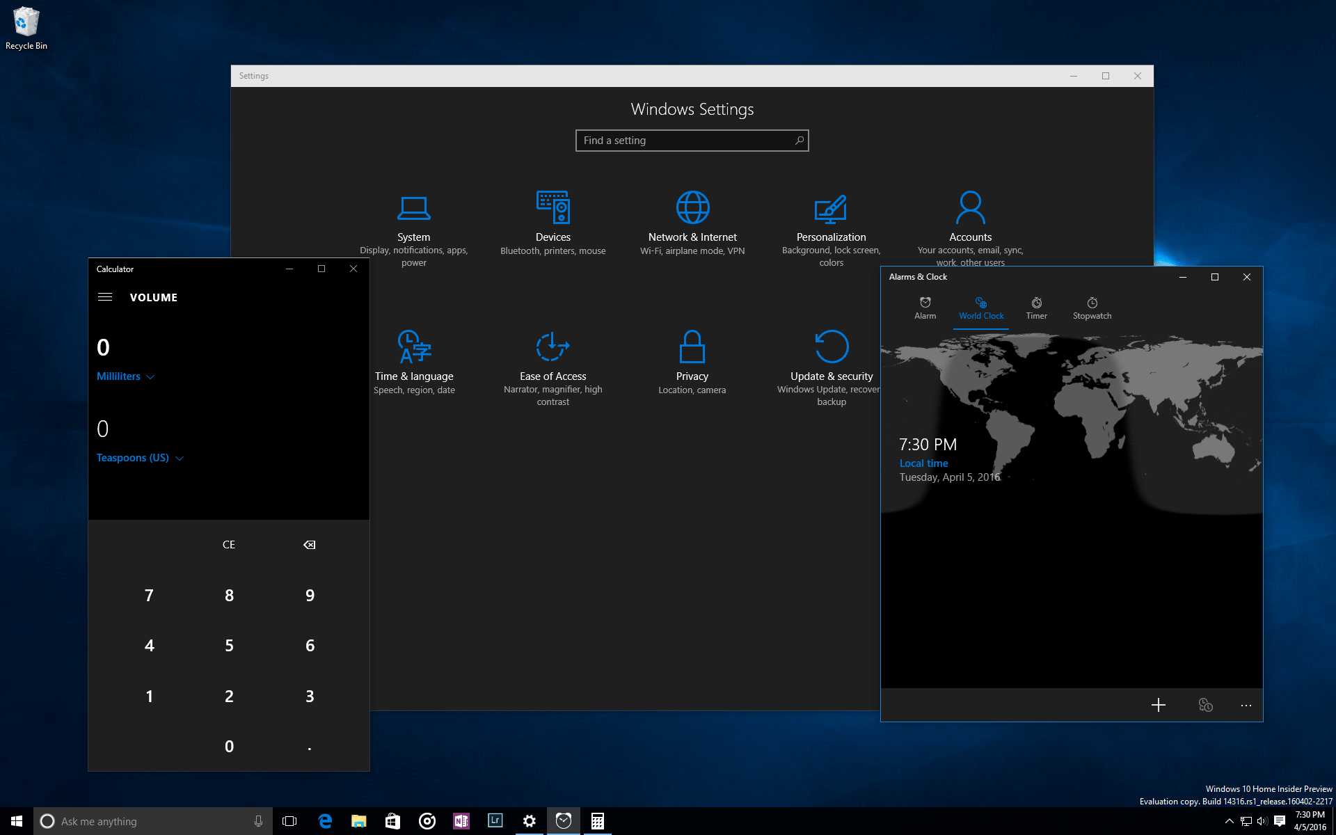 dark mode windows 10