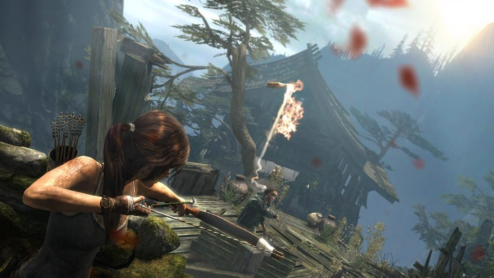 Tomb Raider bow