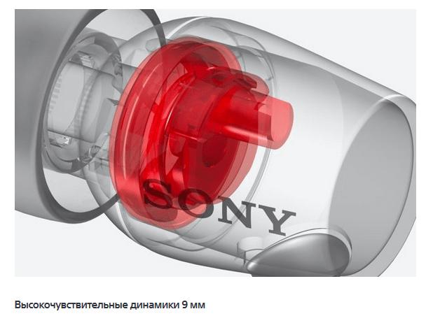 Sony h.ear in MDR-EX750AP динамики