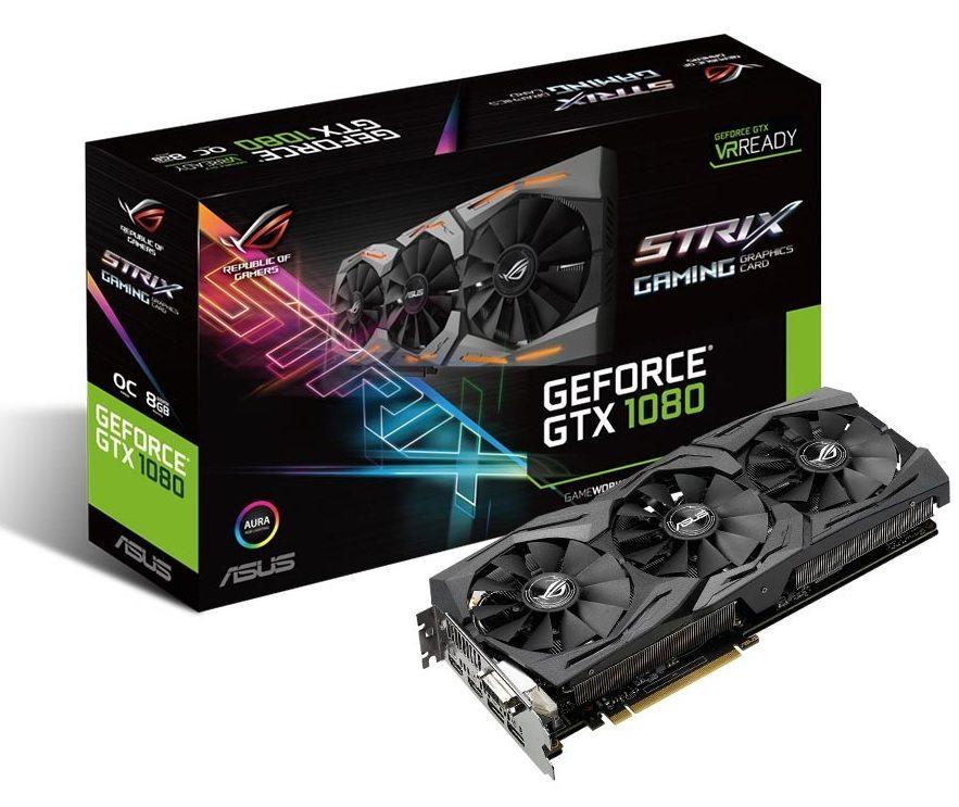 ROG Strix GeForce GTX 1080