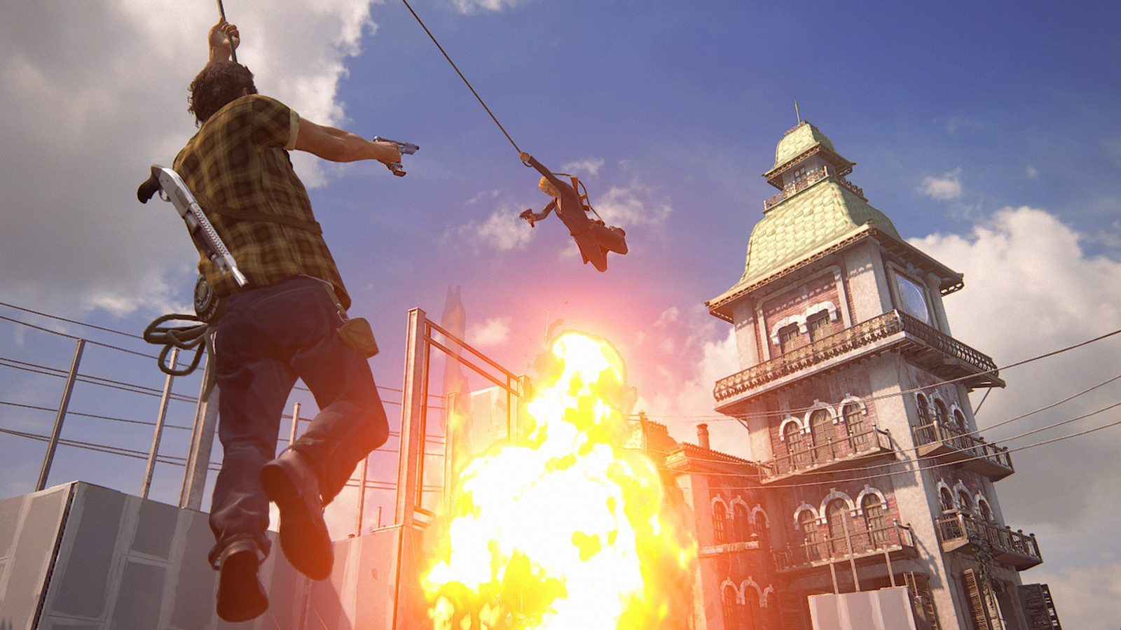 Uncharted 4 action