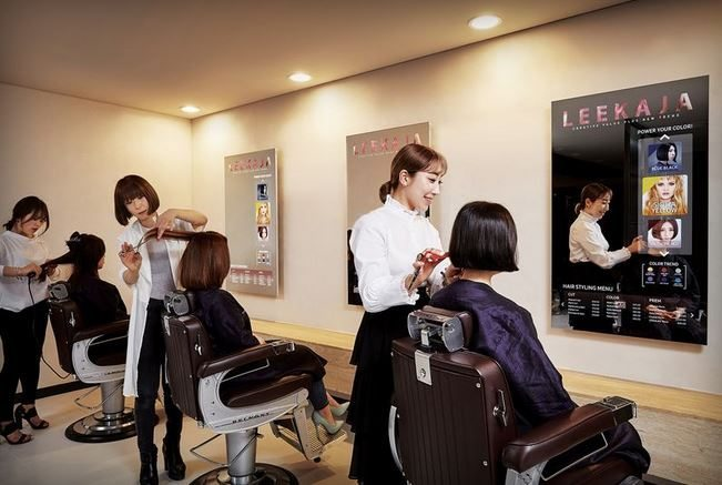samsung hair display