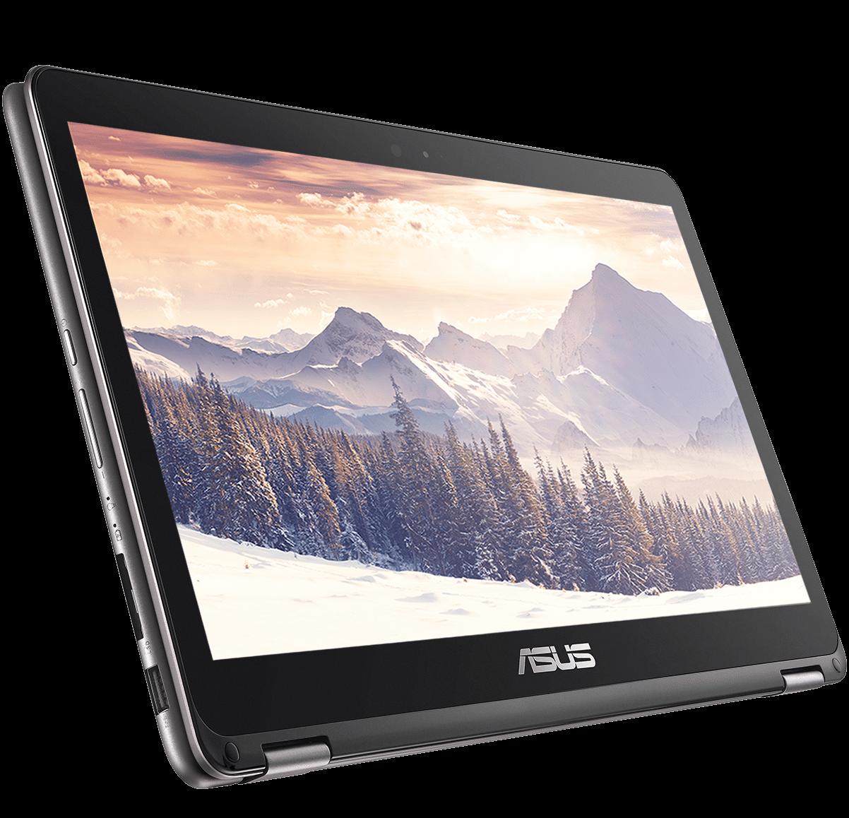 ASUS ZenBook Flip_UX360CA_QHD 3K display_Tablet mode
