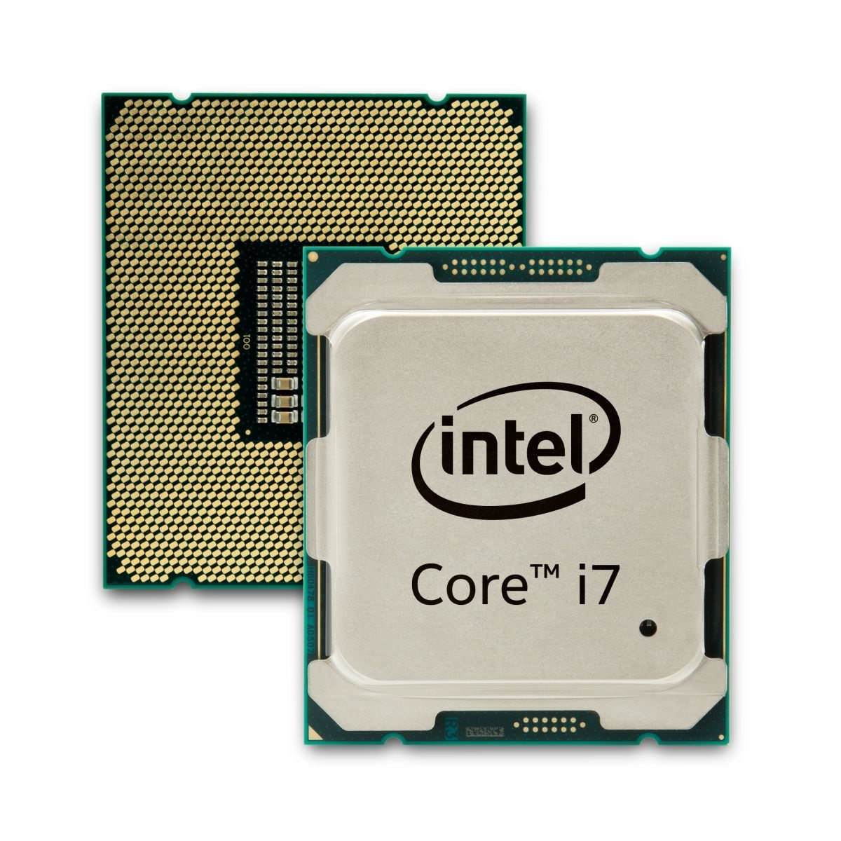 Intel Core i7 Extreme Edition Broadwell-E two side