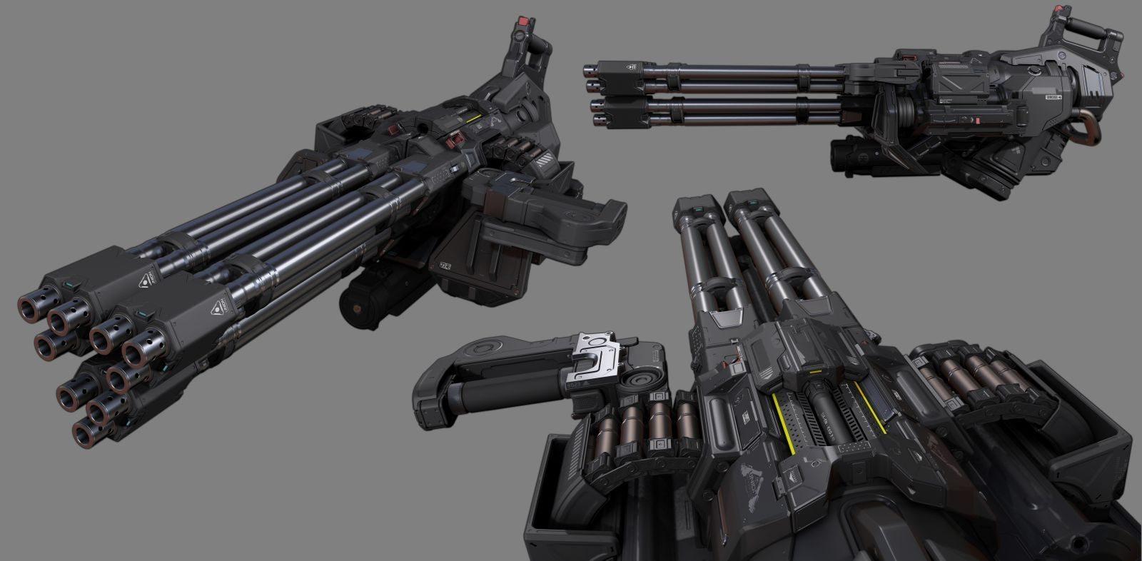 Chaingun Turret Mod
