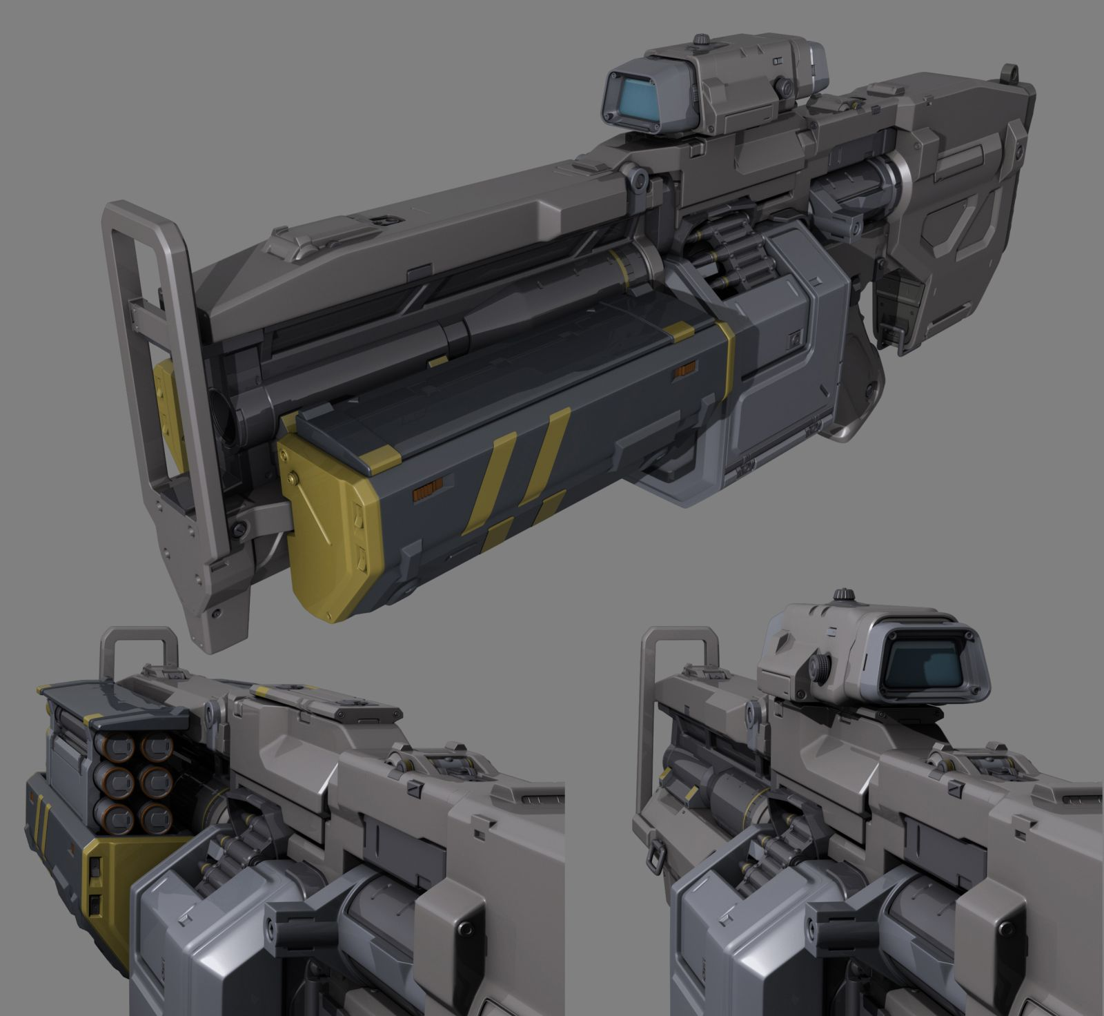 Heavy Assault Rifle