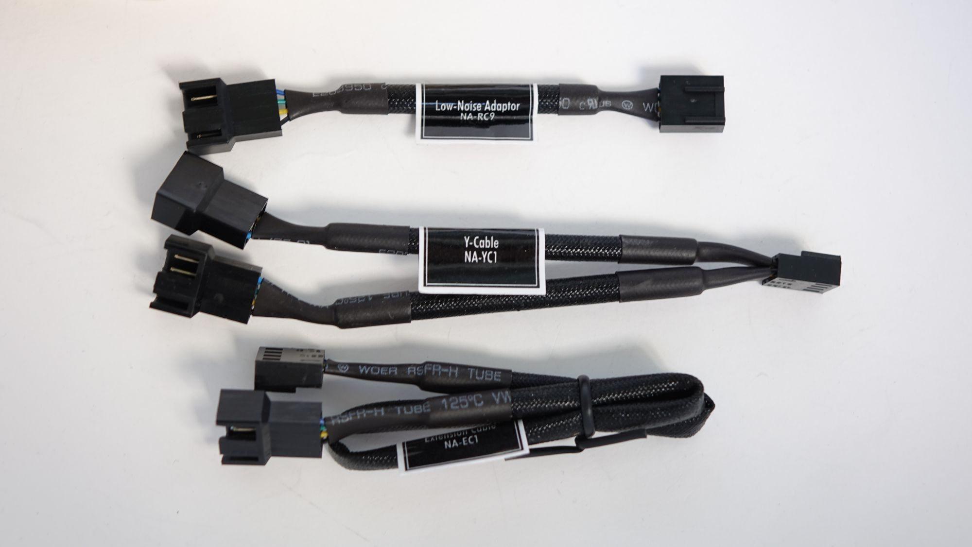 Noctua NF-A15 PWM connectors