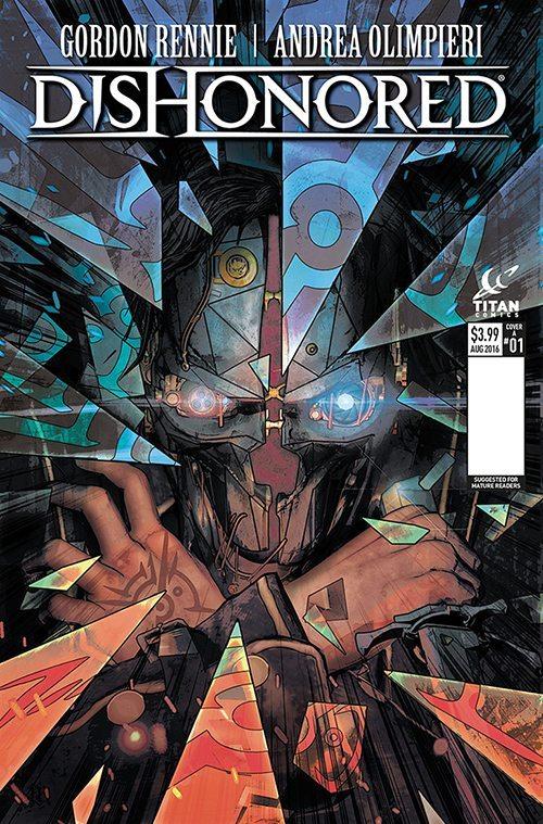 комиксы из вселенной Dishonored 2