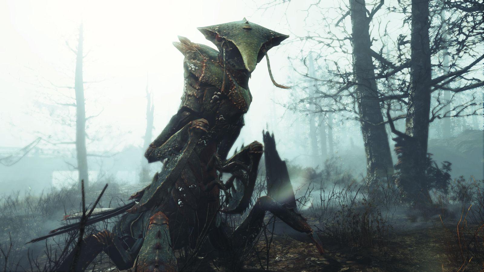 Far Harbor для Fallout 4 FogCrawler