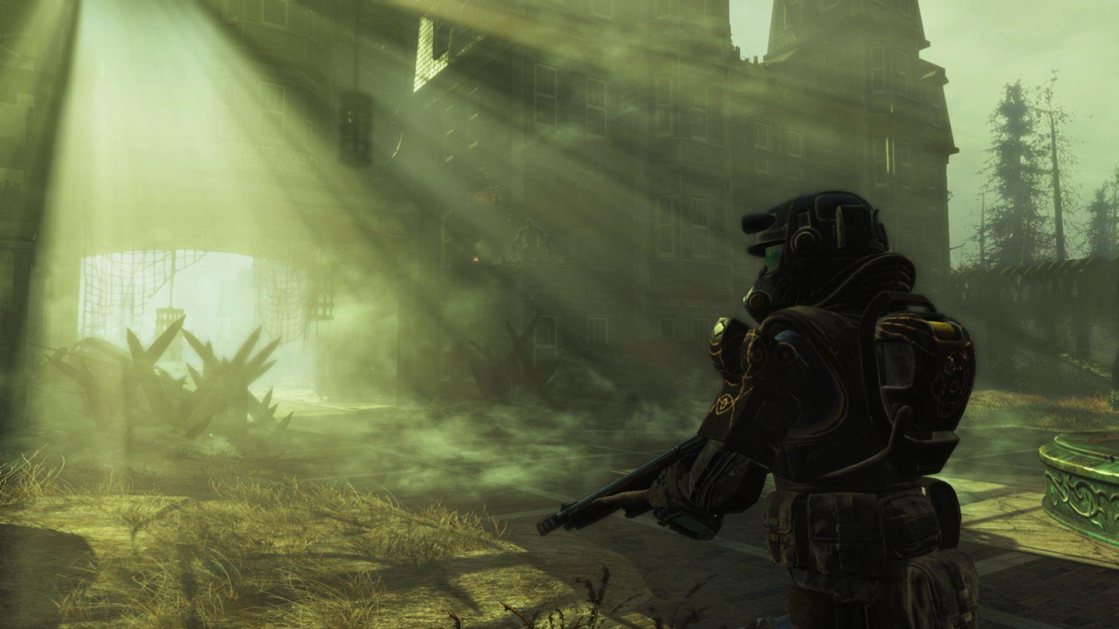 Far Harbor для Fallout 4 MarineArmor