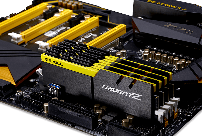 G.Skill Trident Z yellow