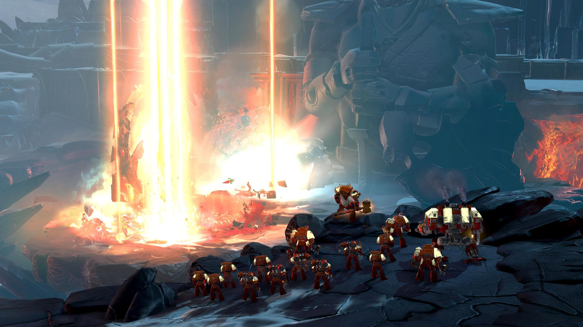 Warhammer 40,000: Dawn of War III screen