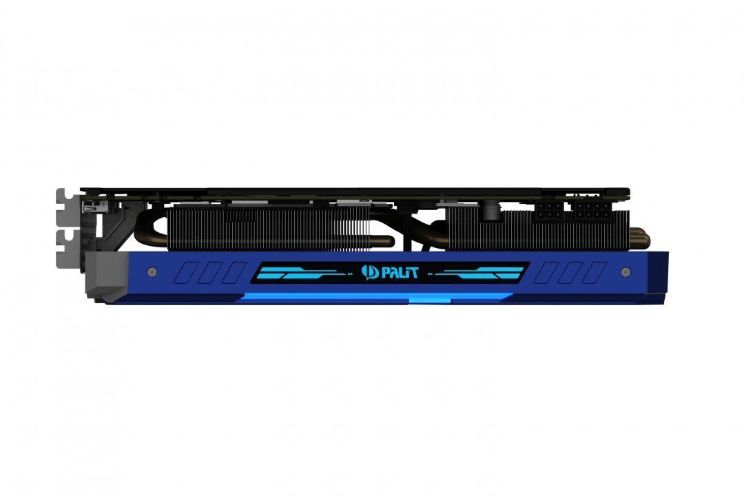 GeForce GTX 1080 GameRock rgb side