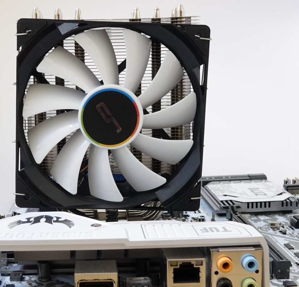 Cryorig QF120 Silent, Performance и Balance on u12s