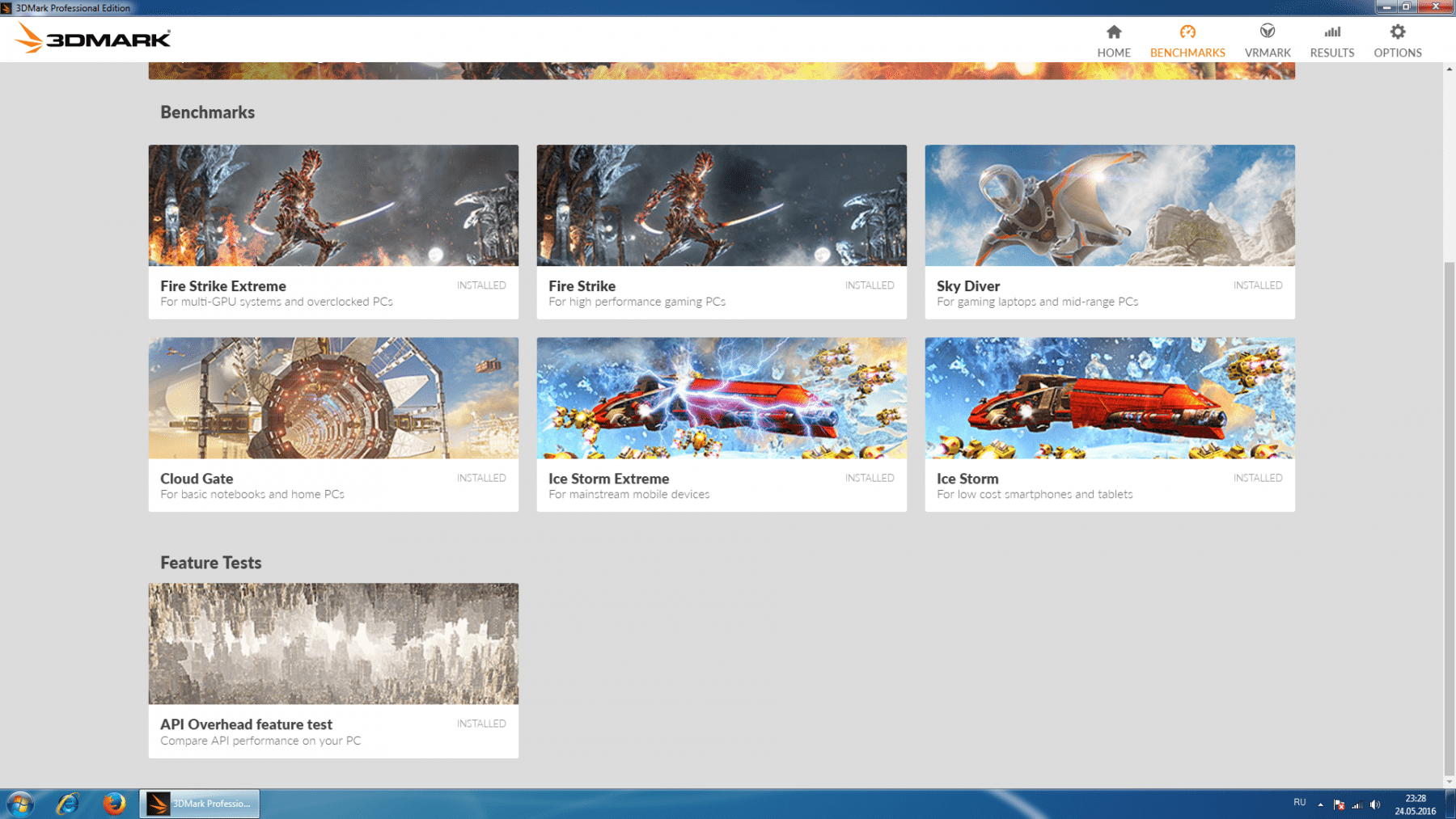 3dmark all tests
