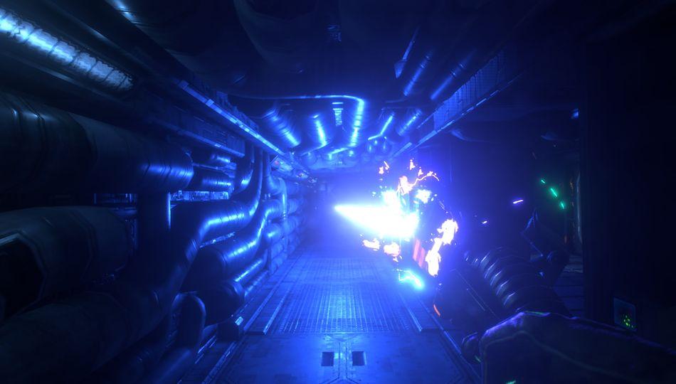 System Shock blast