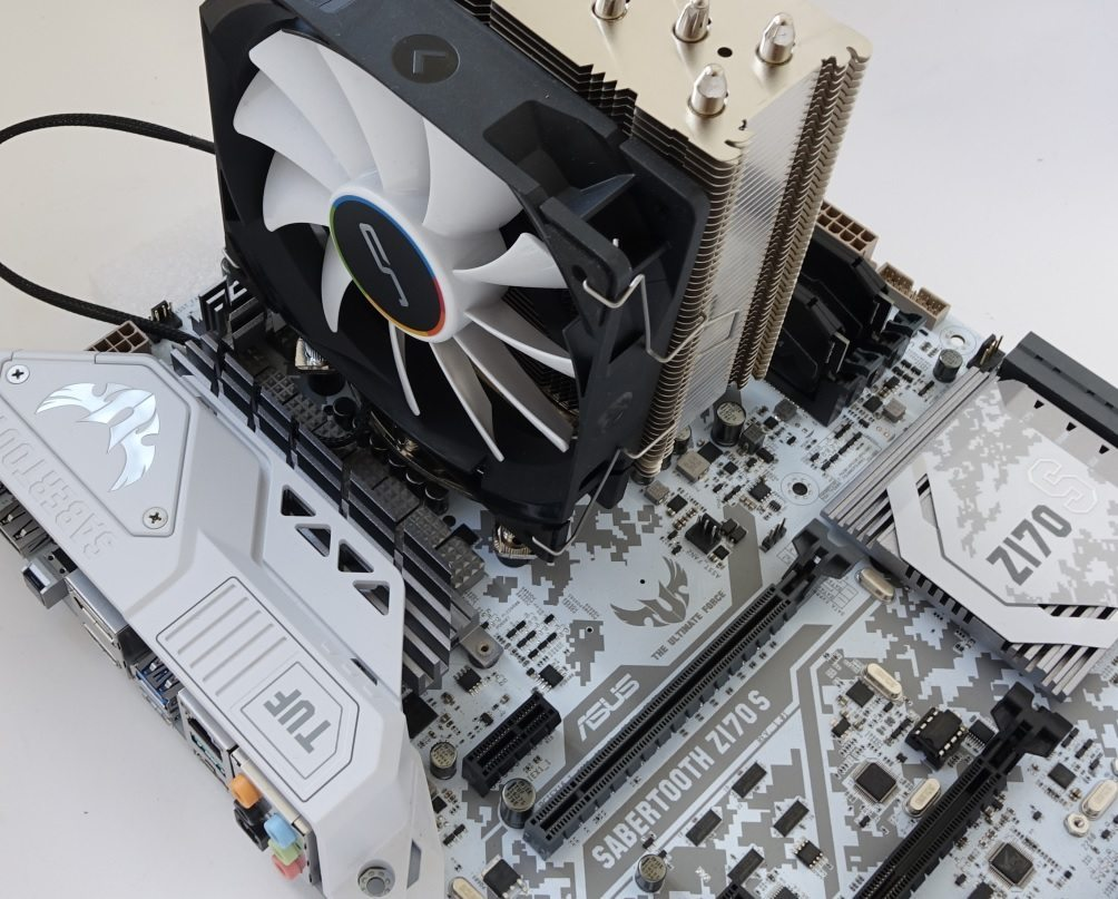 Cryorig QF120 Silent, Performance и Balance on noctua u12s