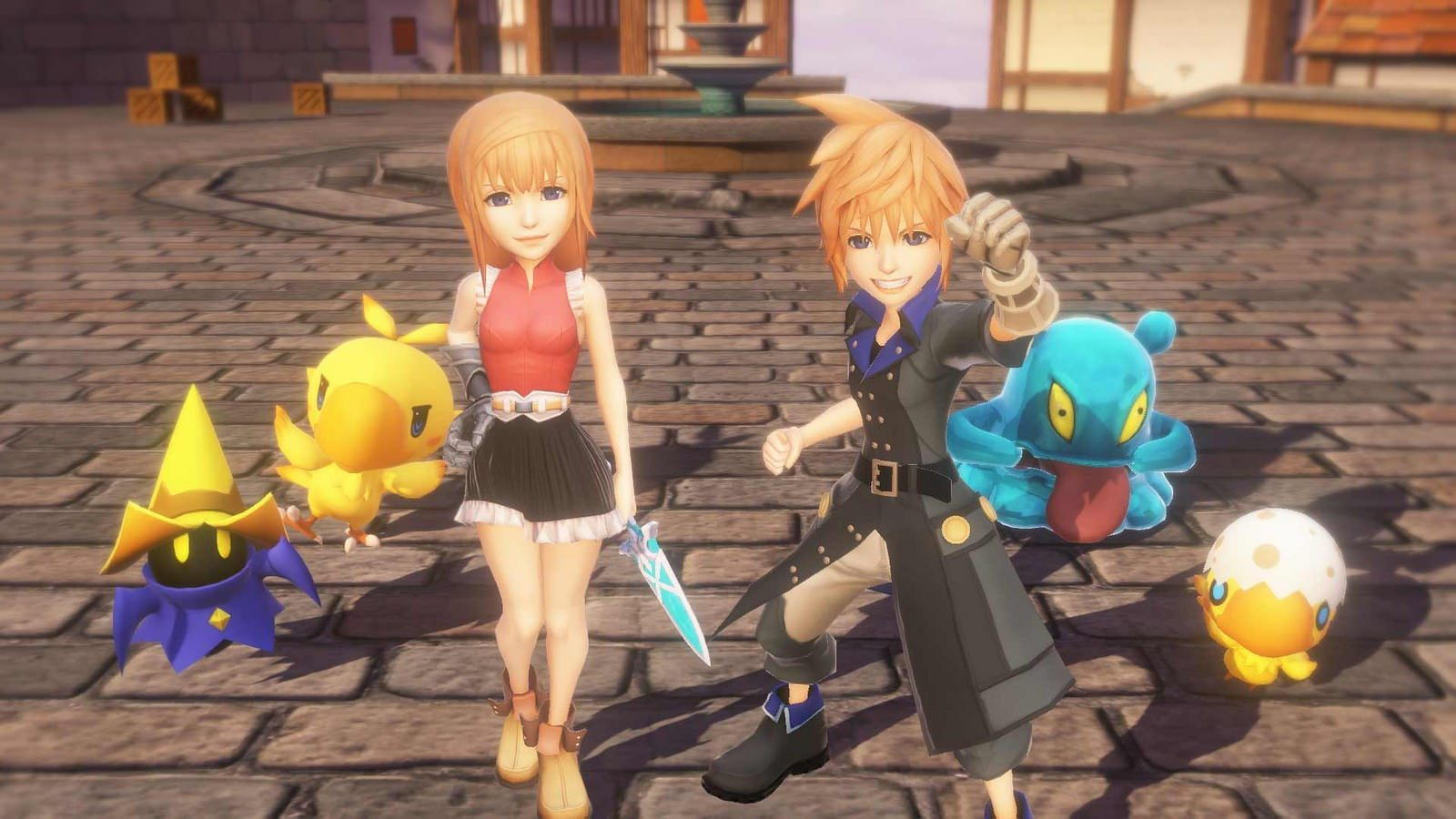 World of Final Fantasy screen