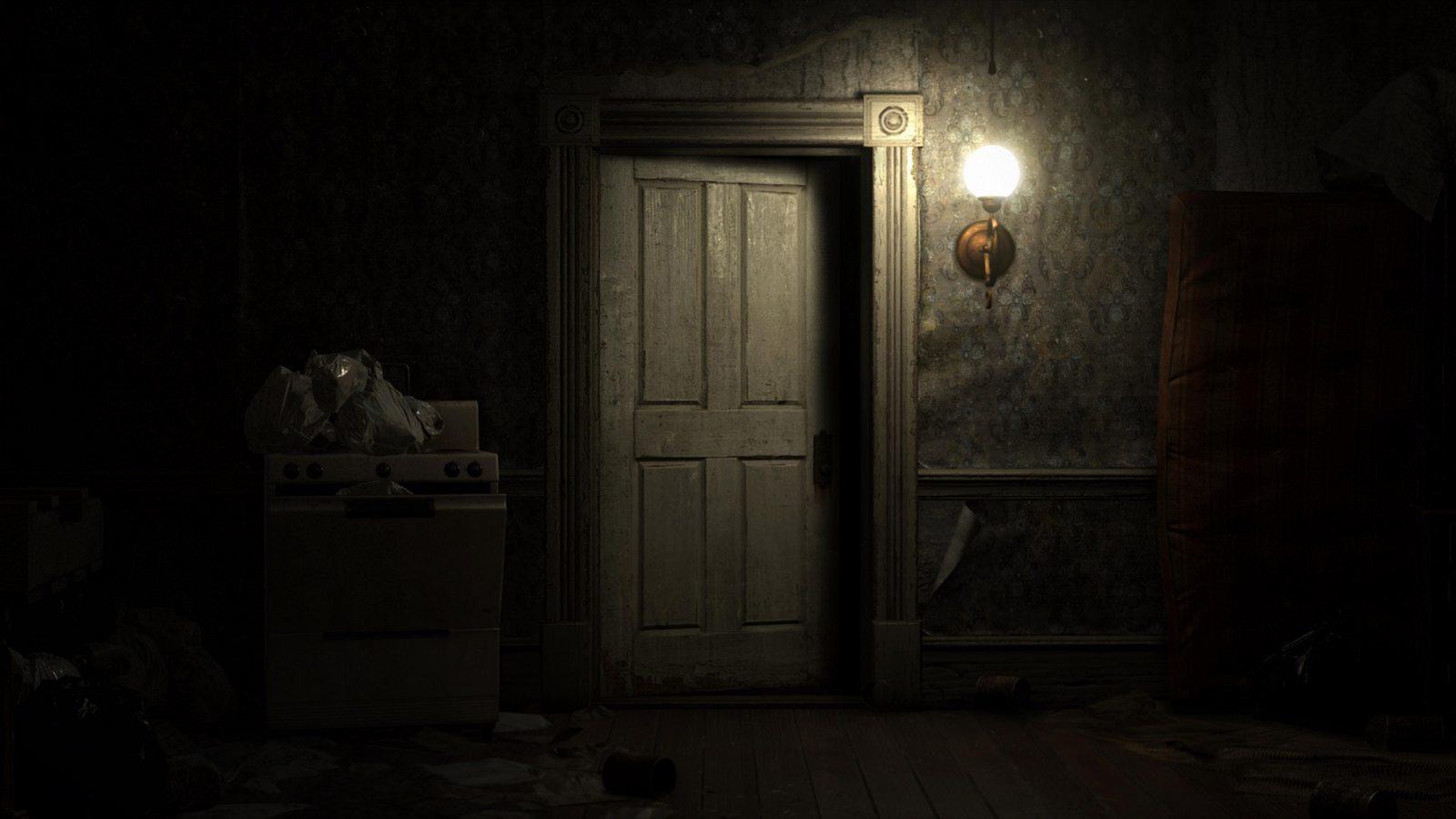 Resident Evil VII: biohazard door