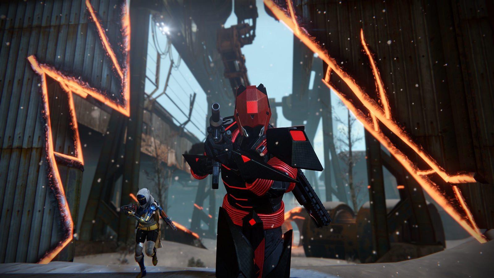 Destiny: Rise of Iron hero