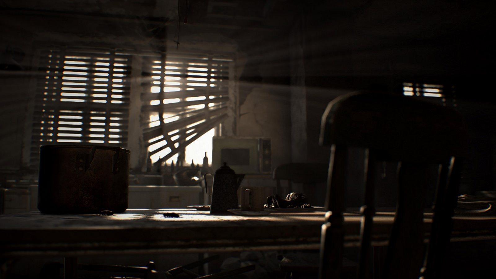 Resident Evil VII: biohazard window