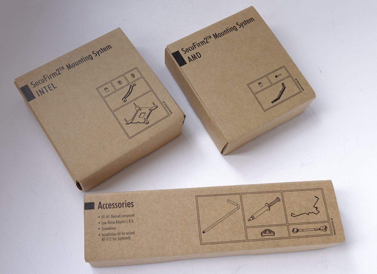 Noctua NH-U12S коробки