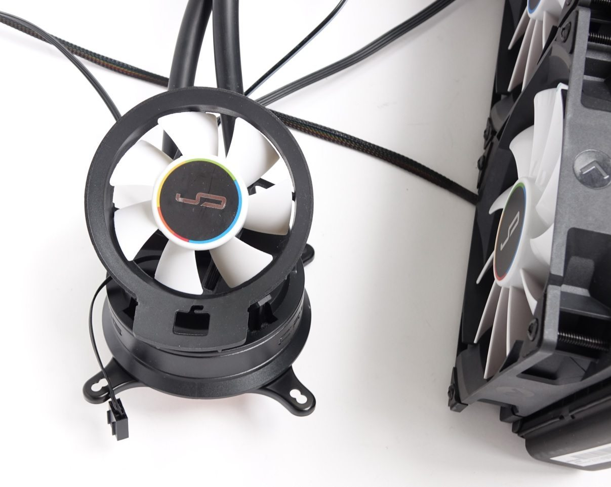 Cryorig A40 Ultimate add fan
