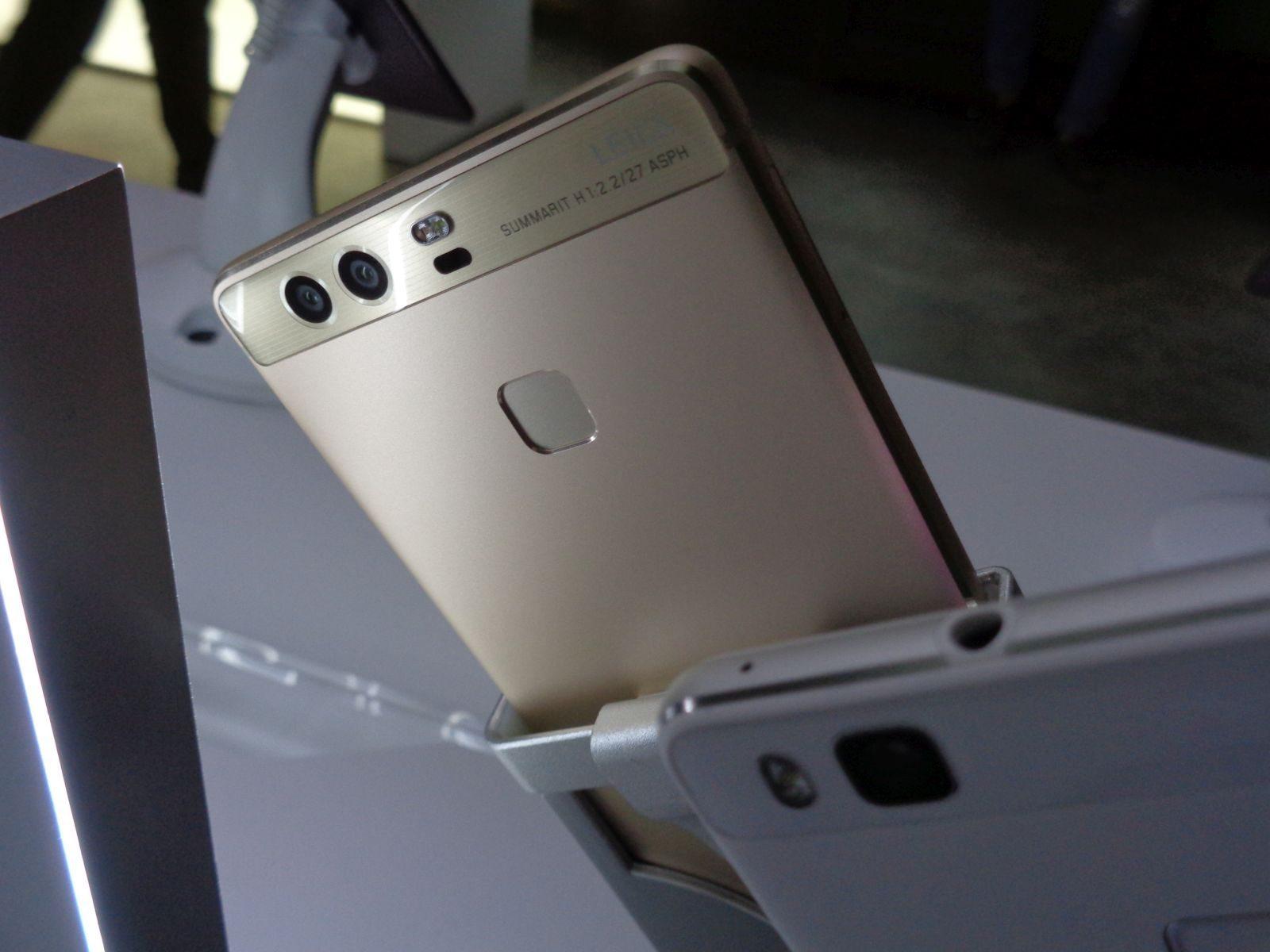 Huawei P9, P9 Plus real back