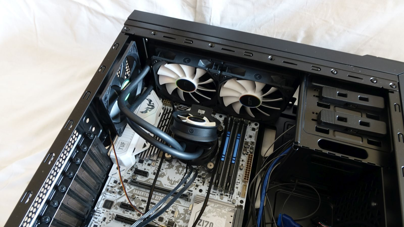 Cryorig A40 Ultimate in work