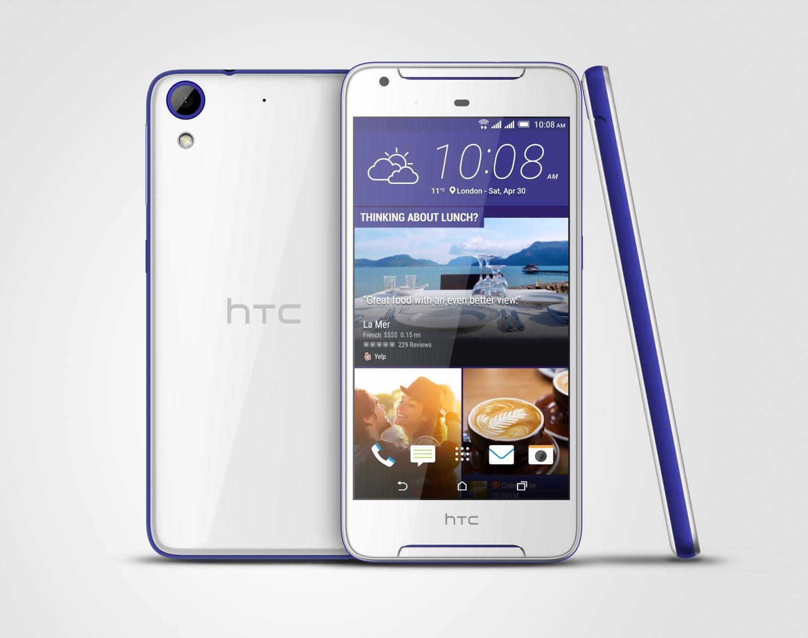 HTC Desire 628 Dual SIM белый