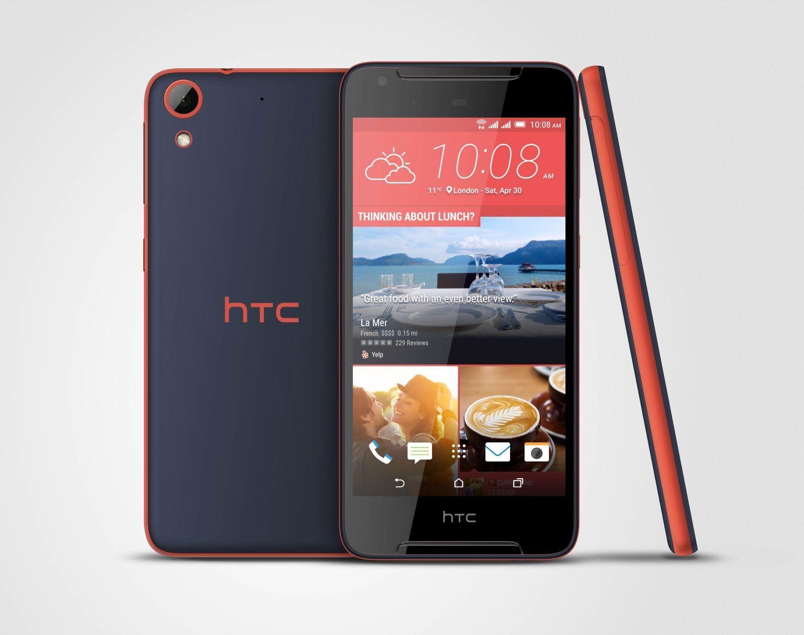 HTC Desire 628 Dual SIM черный