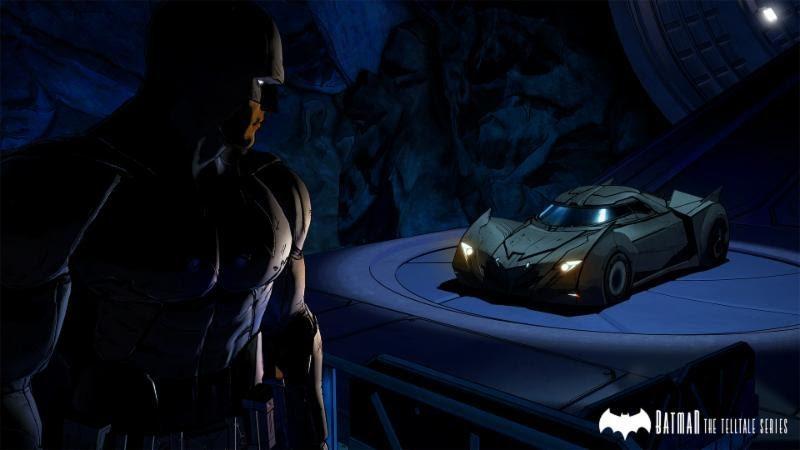 Batman от Telltale car