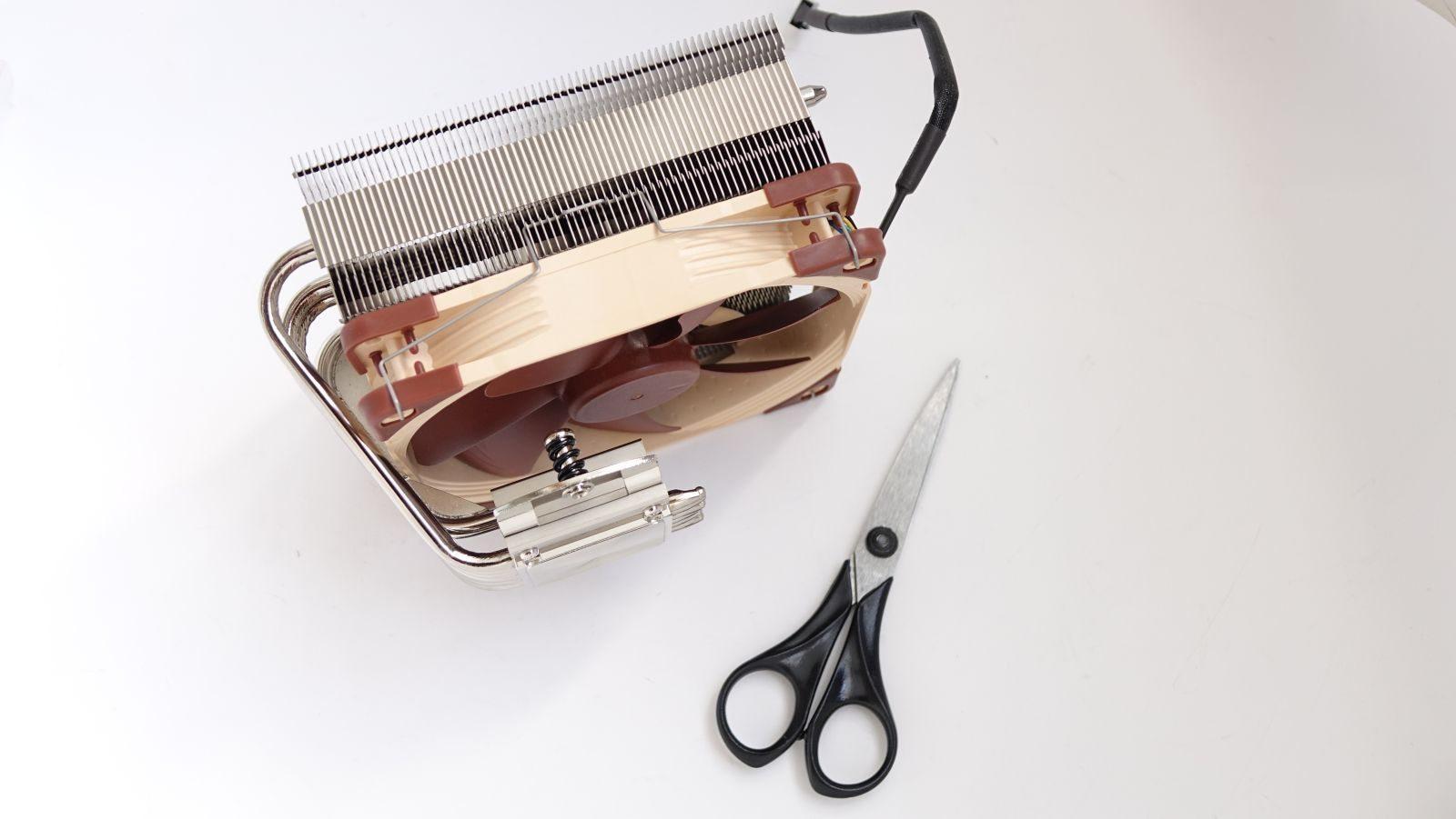 Noctua NH-C14S и ножницы