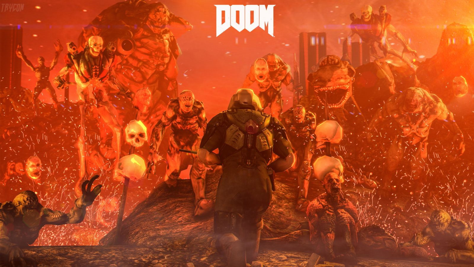 doom-4-digital-art-wallpaper