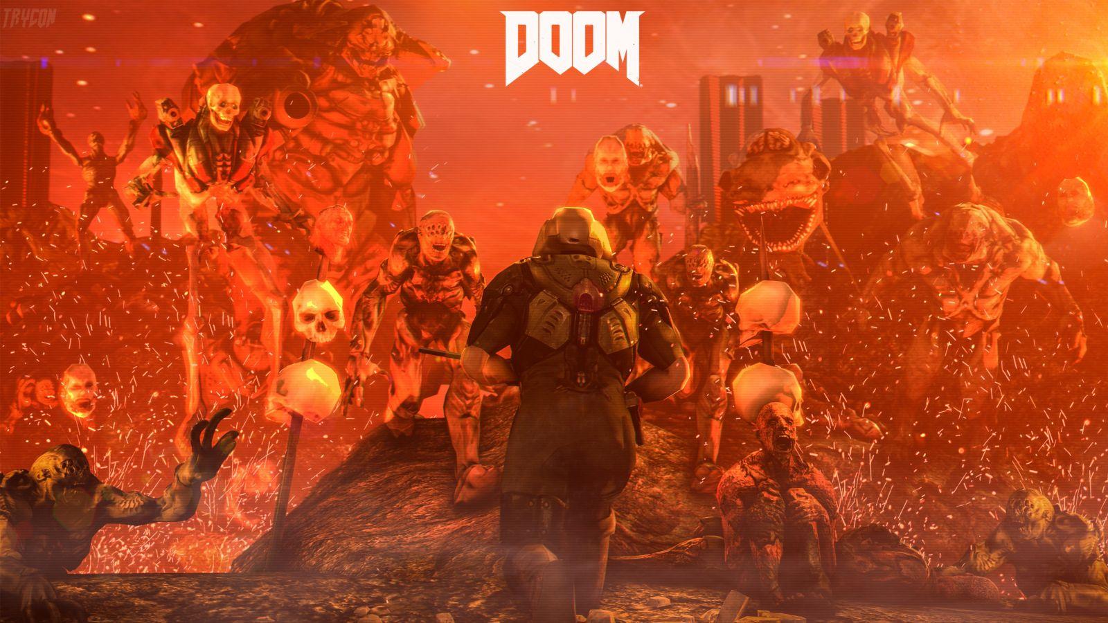 doom-4-digital-art-wallpaper