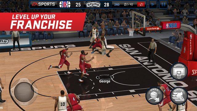 NBA LIVE Mobile game