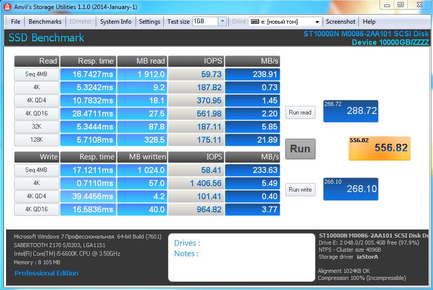 Seagate Enterprise Capacity3.5HDD производительность