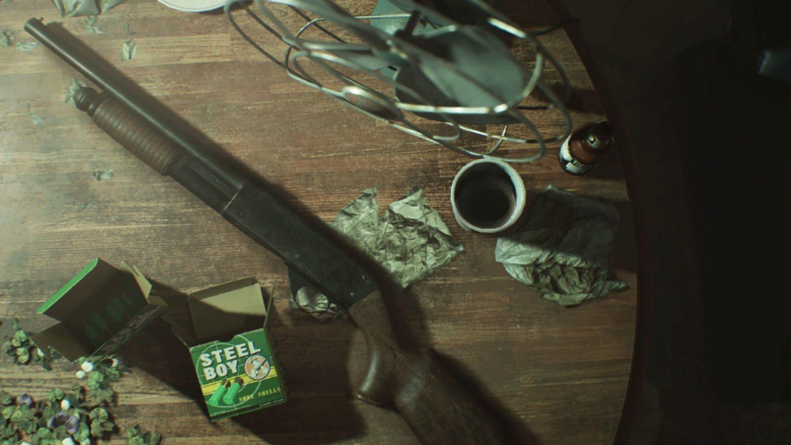 Resident Evil 7 Biohazard shotgun