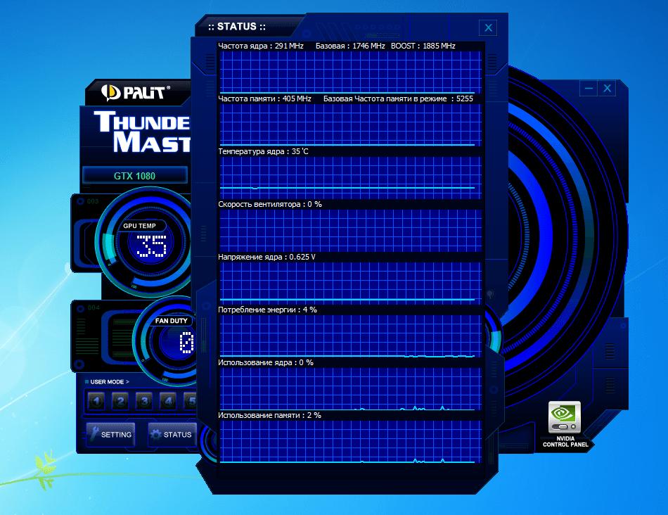 ThunderMaster monitoring