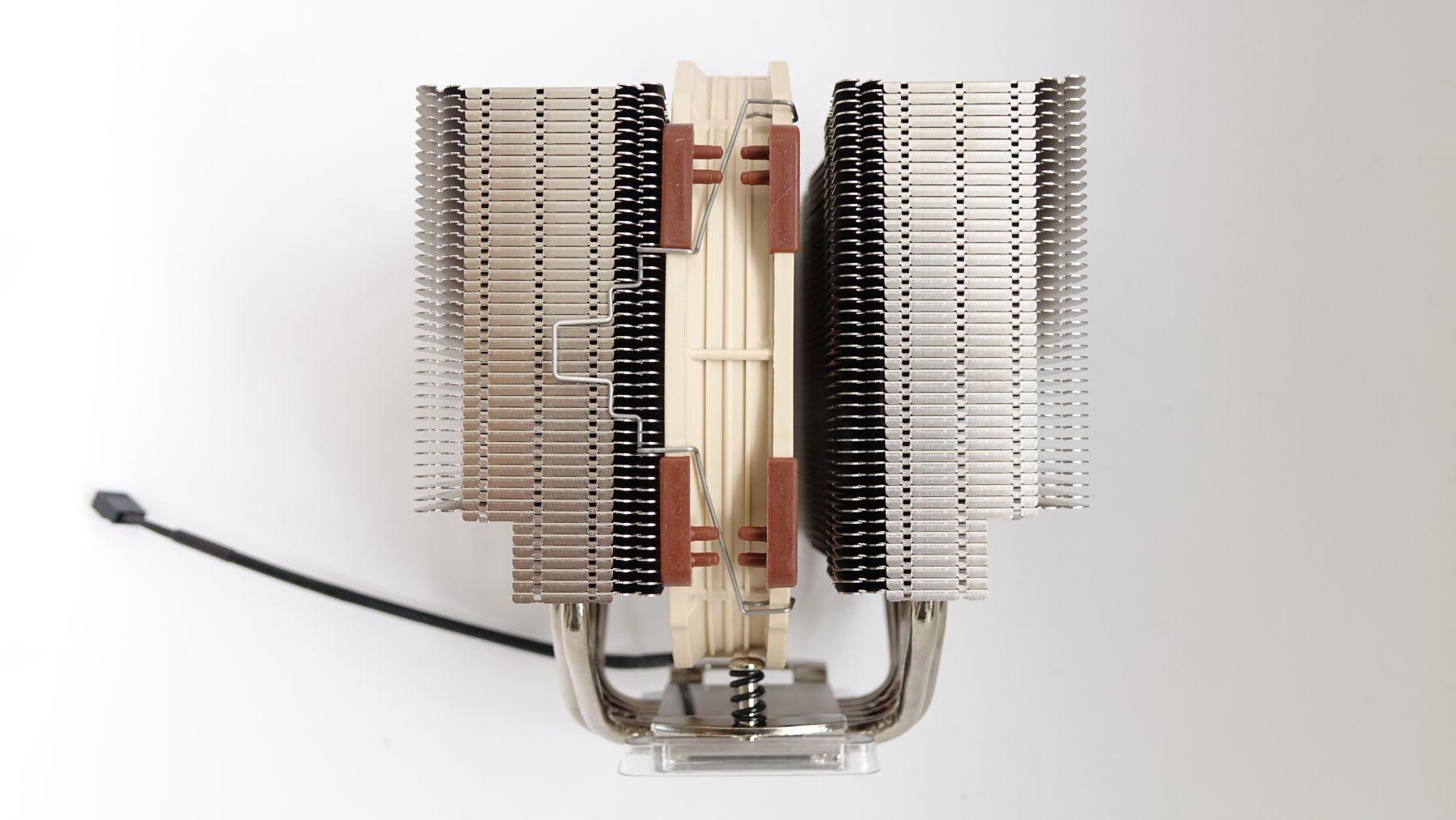 Noctua NH-D15S с одним вентилятором