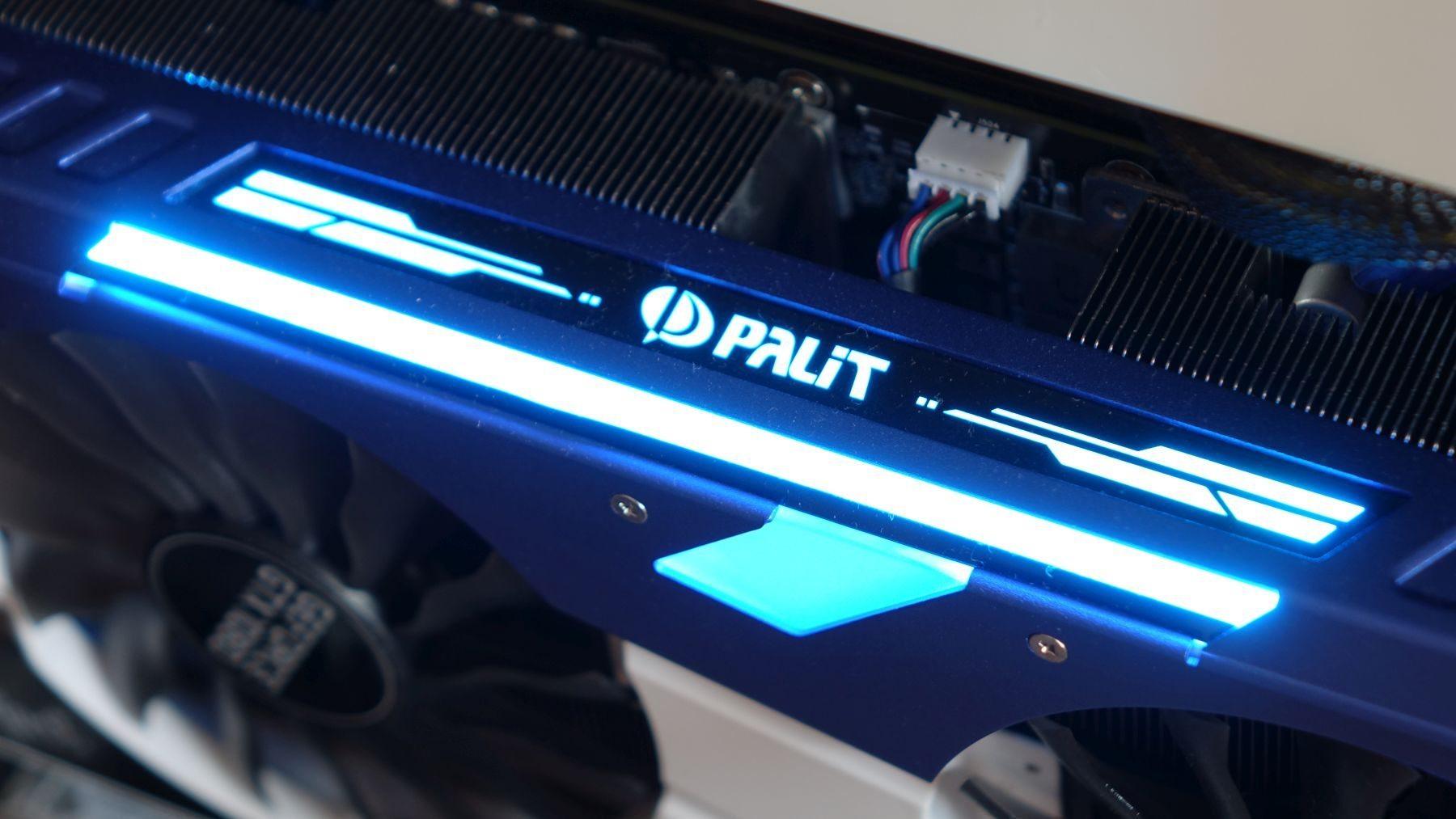 Palit GeForce GTX 1080 GameRock rgb