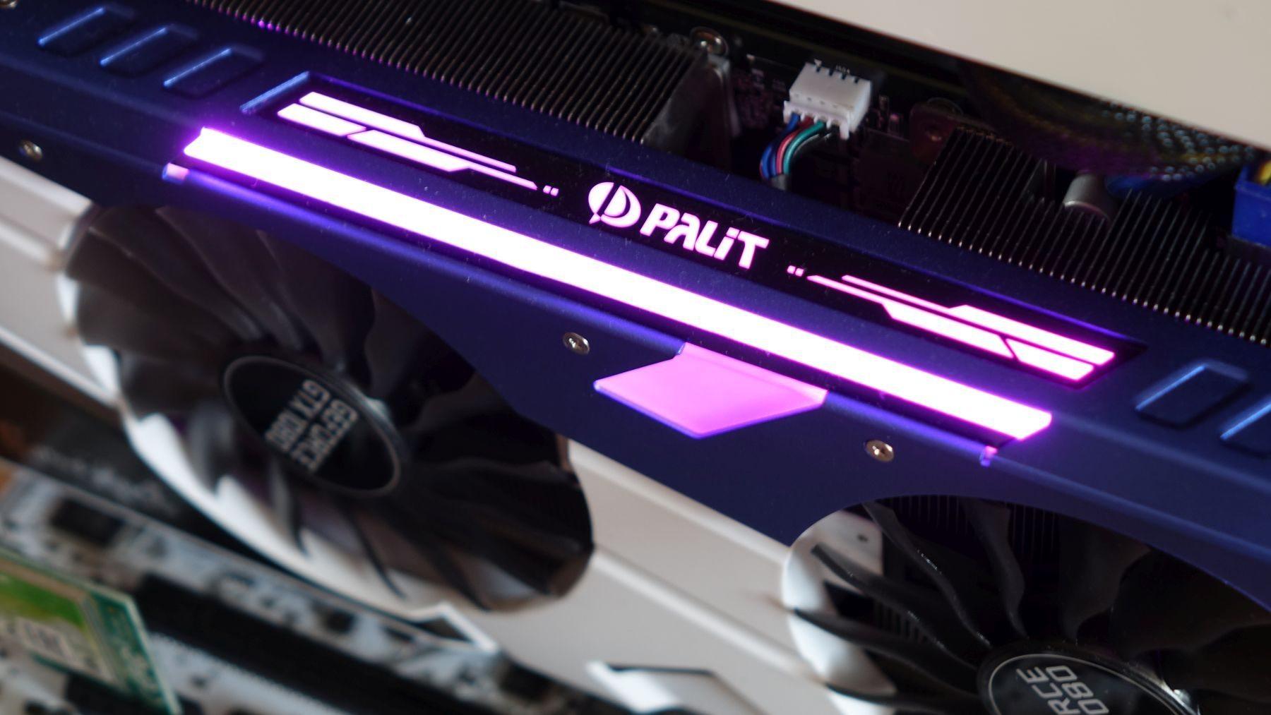 Palit GeForce GTX 1080 GameRock led