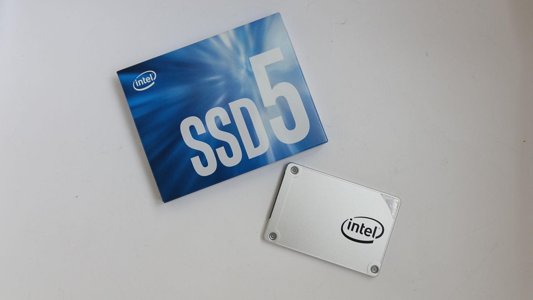 Intel SSD 540S коробка