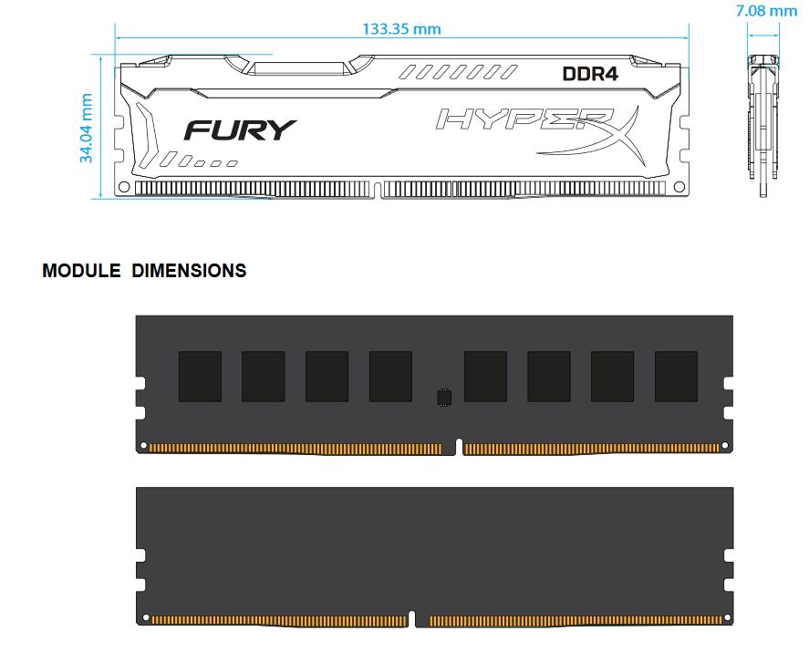 HX426C15FBK2/8 схема