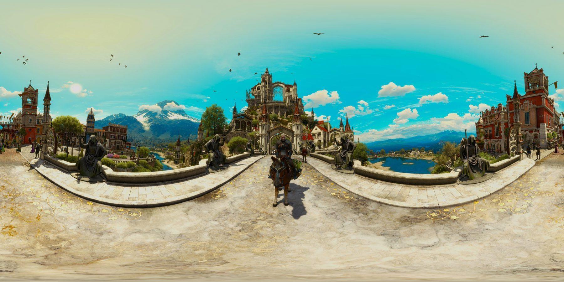 Пример панорамы 360°