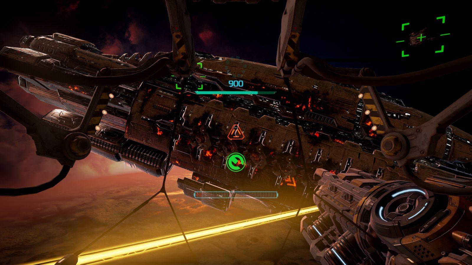 EVE: Gunjack space